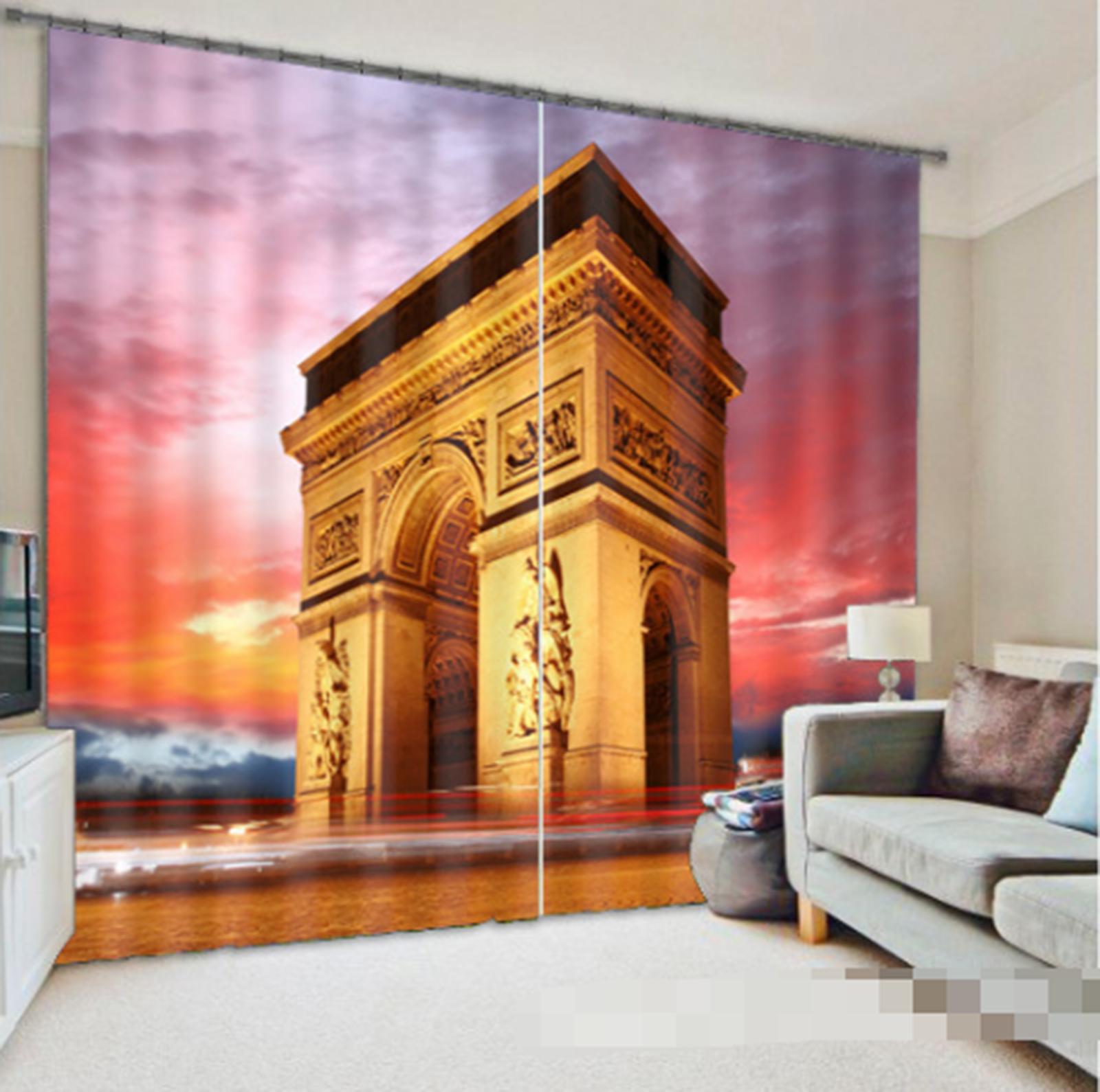 3D Door France0287 Blockout Photo Curtain Print Curtains Drapes Fabric Window UK - $145.49 - $363.75