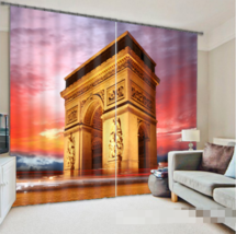3D Door France0287 Blockout Photo Curtain Print Curtains Drapes Fabric W... - $145.49+