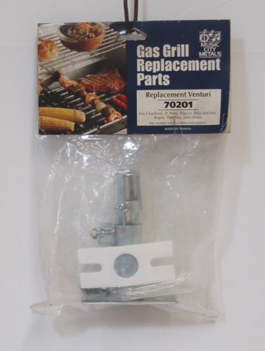 Music City Metals 70201 Gas Grill Replacement 4 Inch Venturi