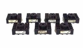 Lot Of 7 Allen Bradley 700-HN125 Ser. A Relay Sockets 10A 300V 700HN125 - $48.00