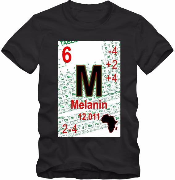 Melanin periodic table t shirt black carbon and 23 similar items melanin periodic table t shirt black carbon urtaz Gallery