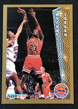1992-93 Fleer Michael Jordan #238 Basketball Card Bulls HOF - $1.24