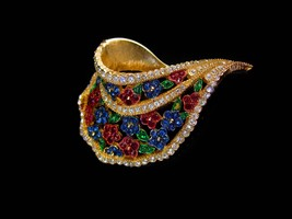 Couture Jewelry - Signed LeC Le Couturier - Marcel Boucher - designer couture  image 1