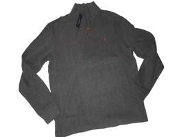 Polo Ralph Lauren Men's Sweater 1/4 Zip Grey Pull Over Medium M - $61.39