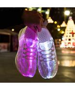 New Summer Led Fiber Optic Shoes - $55.00