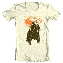 Superman Man of Steel T-shirt DC comics movie Justice League graphic tee SM2112 image 2
