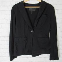 Bcbg Camisa Top Chaqueta Mujer PEQUEÑA S Negro - $19.37