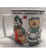 Susan Marie McChesney Enesco Cats Mug Cup D Handle 14oz 1982 - $8.59
