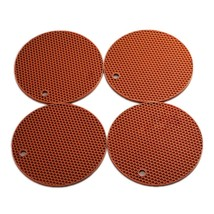 "Smithcraft 7""X7"" Round Silicone Hot Pad and Trivet Mat, Pot Holder,Jar O... - $21.00"