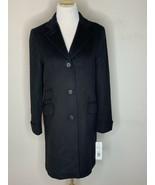 Lauren Ralph Lauren LRL Womens Wool Blend Coat Black Sz 4 - $99.95