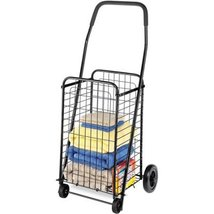 Whitmor Rolling Steel Utility Cart | 4 Stationa... - $57.40