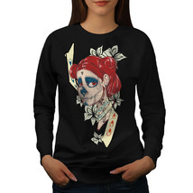 Cool Sugar Horror Skull Jumper  Women Sweatshirt - $18.99