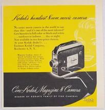 1951 Print Ad Cine-Kodak 8mm Movie Cameras Eastman Kodak Rochester,New York - $9.78