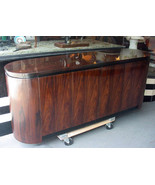 Thomasville Streamline Modern Rosewood Buffet and Table - $4,500.00