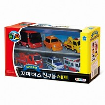 Tayo Special Pull Back Little Small Mini Miniature Toy Bus Car Vehicle 6 Pieces