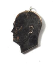 "Eisenhower $1 One Dollar Coin Head Cut Out Pendant Charm 1-1/8"" x 19mm  - £15.85 GBP"