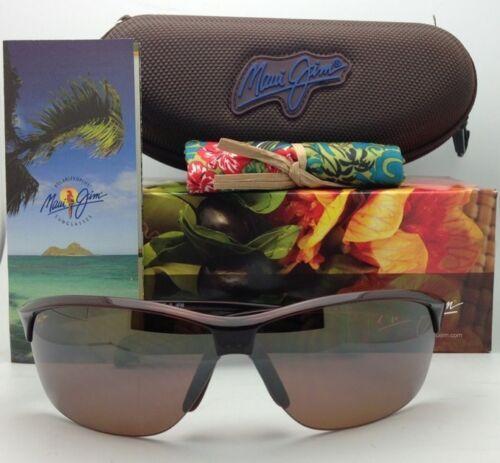 Nuevas Polarizadas Maui Jim Gafas de Sol Sexy Tierra Mj 426-26 Rootbeer Hcl image 2