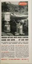 1964 Print Ad Impecco Butane S-200 Camping Stove & L-200 Lanterns New Yo... - $10.72