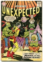 Tales Of The Unexpected #44 1959-Space Ranger-Menace of Indian Aliens - $47.18