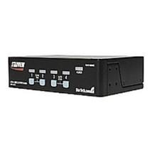 StarTech SV431USBAE KVM Switch - 4 Ports Computer Connections - 1 Port M... - $94.73
