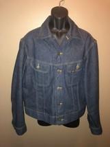 Vintage 70s LEE Riders Sanforized USA Union Made 220-J Denim Jean Jacket... - $281.95