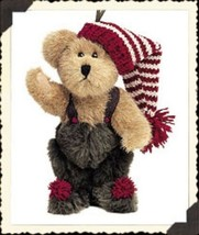"Boyds Bears ""Eldon Elfberg"" 5.5"" Plush Bear Ornament- #562416- New- 2002 - $23.99"