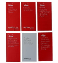 Samsung Galaxy Note 3 Verizon Manual/Consumer and Product Safety Info Pack N900 - $4.94