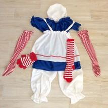RAGGEDY ANN COSTUME SET Child M - $48.51