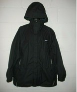 Vintage Black Patagonia Hooded Parka Jacket Coat 2XL XXL - $99.99