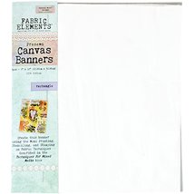 Fabric Elements 9x12 Canvas Banners 3pcs- - $2.25