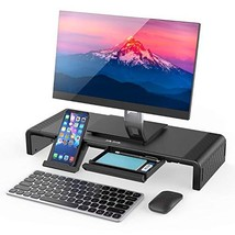 Monitor Stand Riser, Jelly Comb Foldable Computer Monitor Riser, Computer Stand