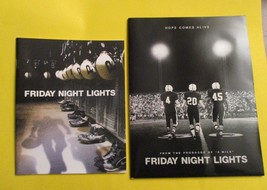 FRIDAY NIGHT LIGHTS MOVIE PRESS KIT FOLDER PRODUCTION INFO NO PHOTO DISK - $21.99
