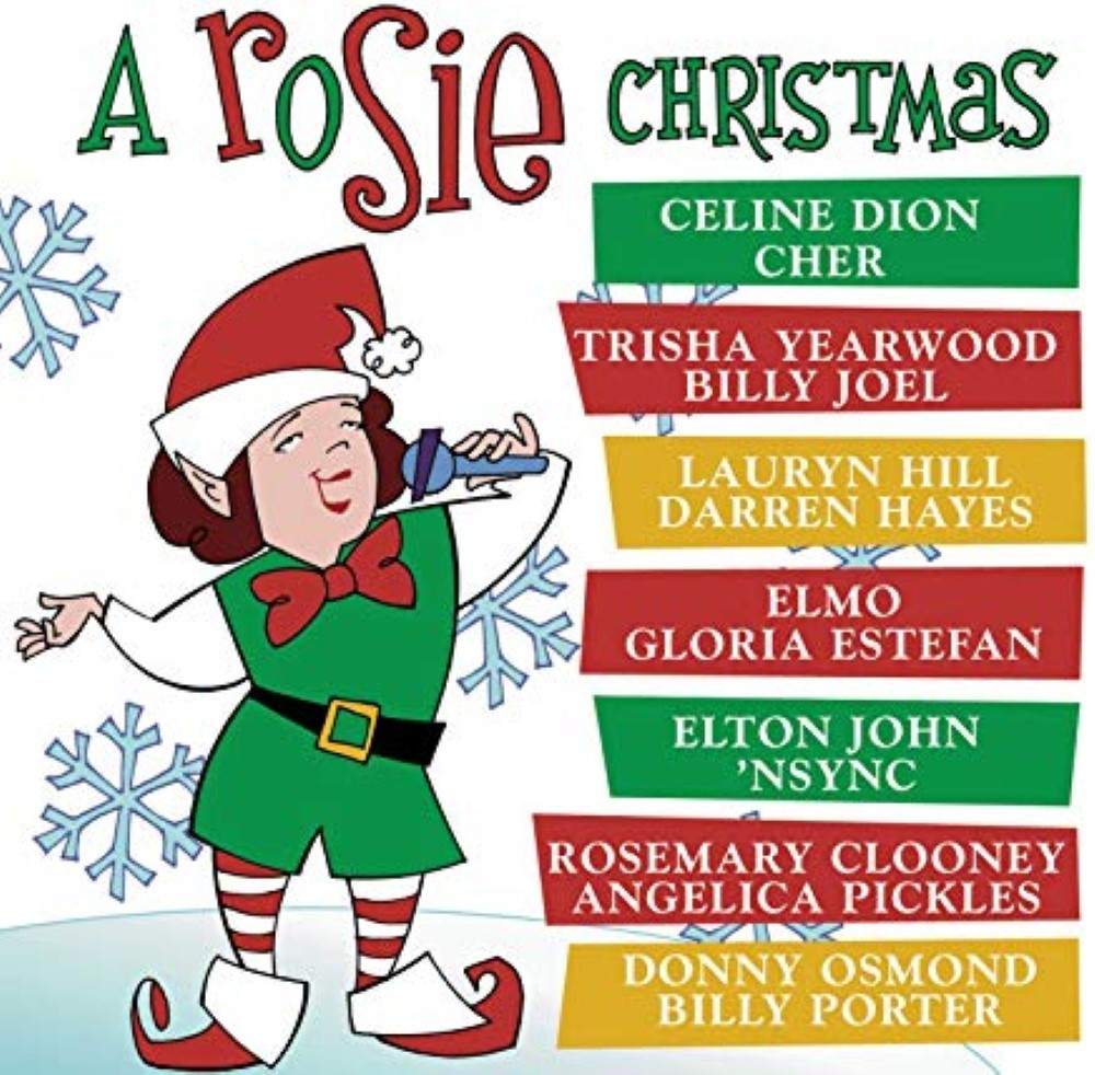 A Rosie Christmas by Rosie O'Donnell Cd