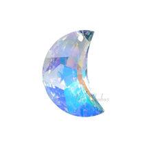 "Swarovski Pendants jewelry necklace making CRYSTAL AB (001 AB) ""Pick Your Shape"" image 10"
