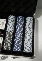 *NEW*  Willco 300 Pieces Poker Chip set in an Aluminum carrying Case  image 4