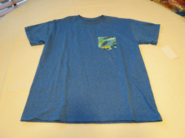 Boys youth O'Neill surf skate XL Burner T shirt Youth TEE SBZ blue htr S... - $16.03