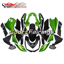 Green Black Fairings for Kawasaki Z1000 2010-2013 ABS Body Frames Covers - $352.48