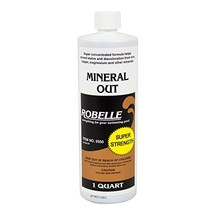 Robelle 2550 Mineral Out Stain Remover for Swimming Pools, 1-Quart - $21.79