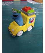 Vintage 1983 Muppets Playskool Cookie Monster diecast car Pvc toy figure... - $6.79