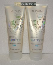 Two pack: Nu Skin Nuskin ageLOC LumiSpa Treatment Cleanser Gel Oily x2 - $77.00