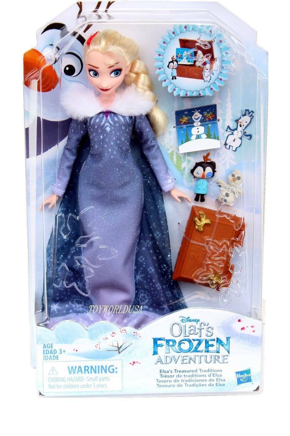 Primary image for  Elsa's Trearsured Traditions Doll From Olaf's Frozen Adventure