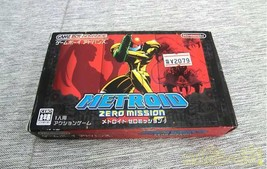 Nintendo Metroid Zero Mission Agb-P-Bmxj Jpn Game Boy Advance Software - $112.75