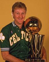 Larry Bird Trophy Boston Celtics SFOL 11X14 Color Basketball Memorabilia... - $14.95