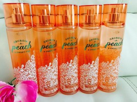 Total 5 Bath & Body Works Georgia Peach & Sweet Tea  Body Mist Full Size... - $37.57