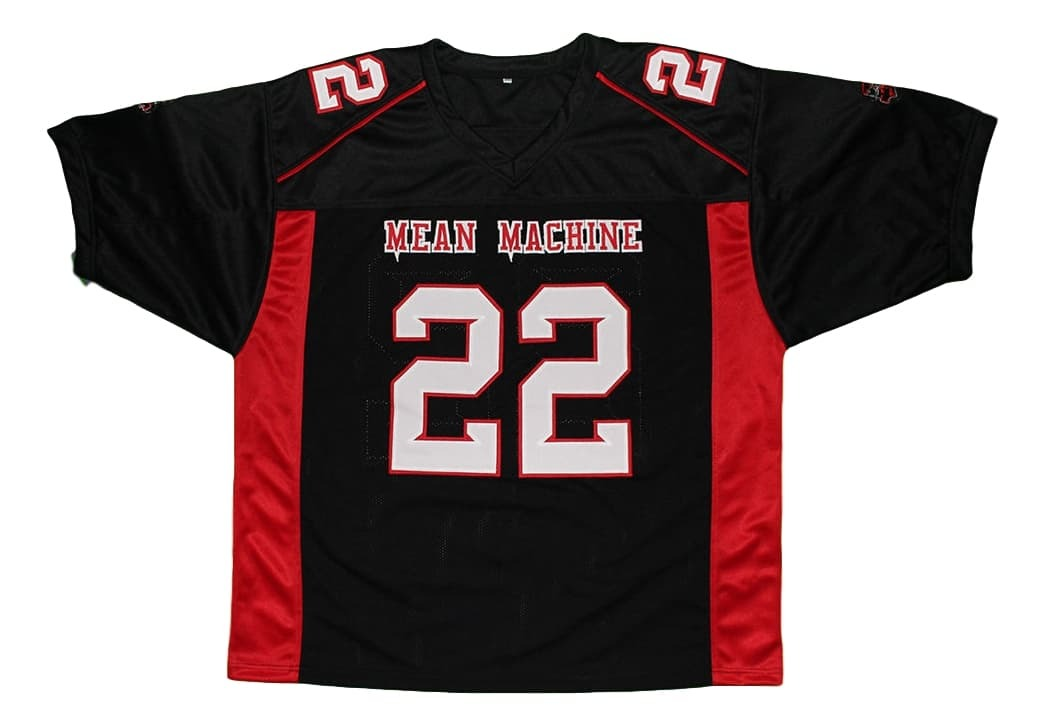 Scarborough #22 Mean Machine Longest Yard Movie Football Jersey Black Any Size