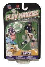 NIB Brett Favre Minnesota Vikings 2010 McFarlane Toys NFL Playmakers Ser... - $59.95