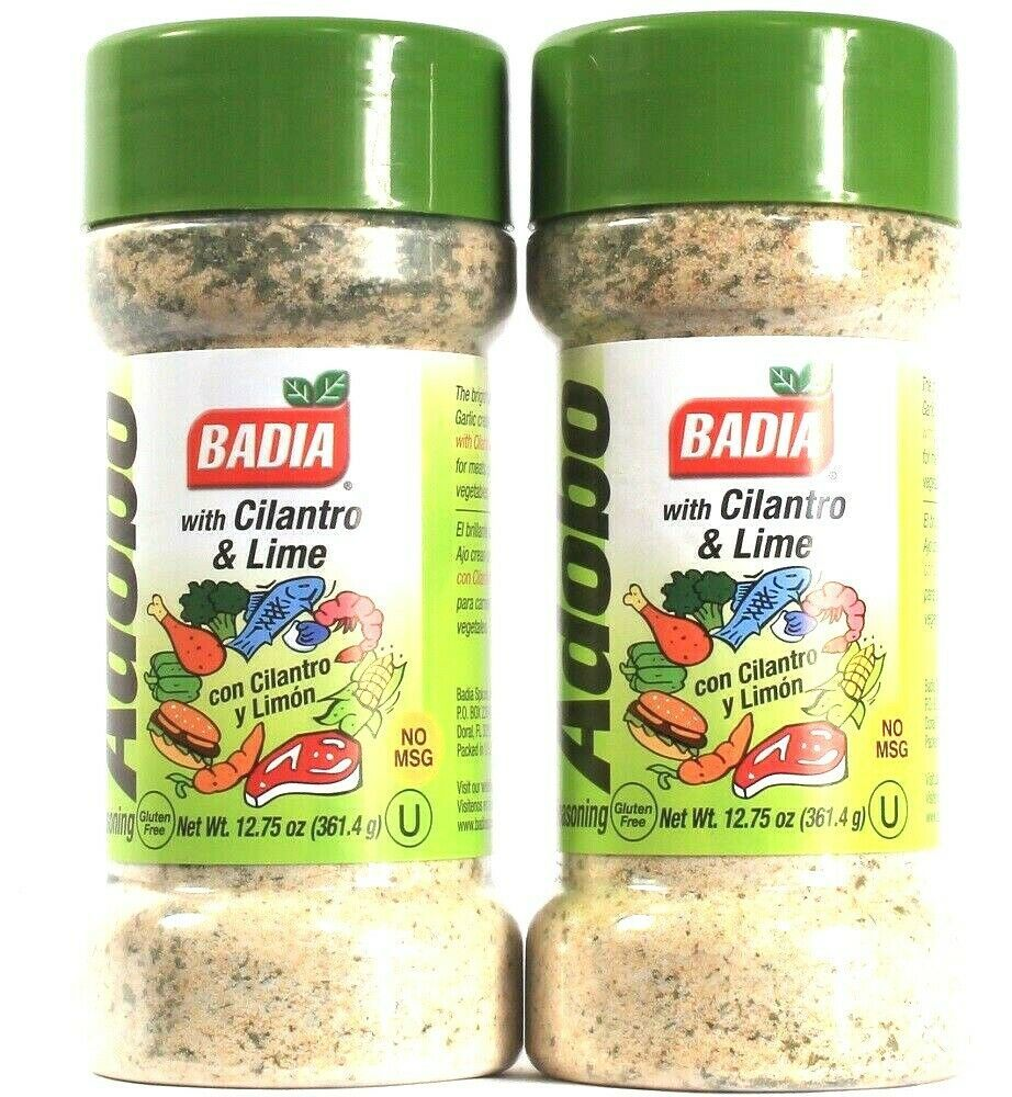 Primary image for 2 Count Badia 12.75 Oz Adobo With Cilantro & Lime No MSG Seasoning BB 8/2025