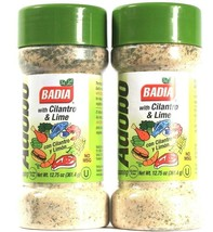 2 Count Badia 12.75 Oz Adobo With Cilantro & Lime No MSG Seasoning BB 8/... - $18.99