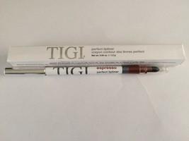 Tigi Perfect Lip Liner Lipliner With Smudger Espresso - $14.75