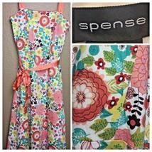 NEW Spense Womens Size 6 Floral Dress Strapless Straps - $27.98